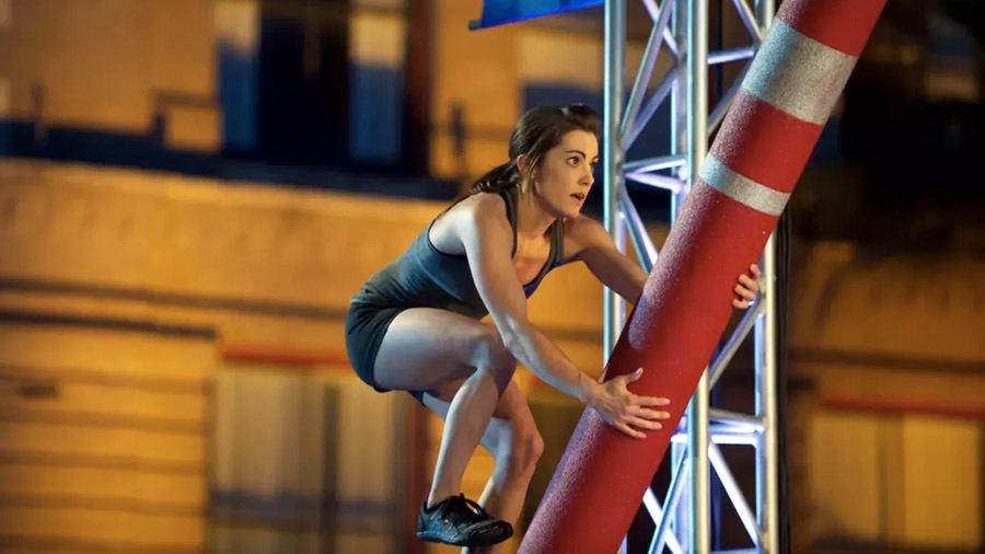 Кейси Катанзаро - супердевушка на шоу Американский воин-ниндзя