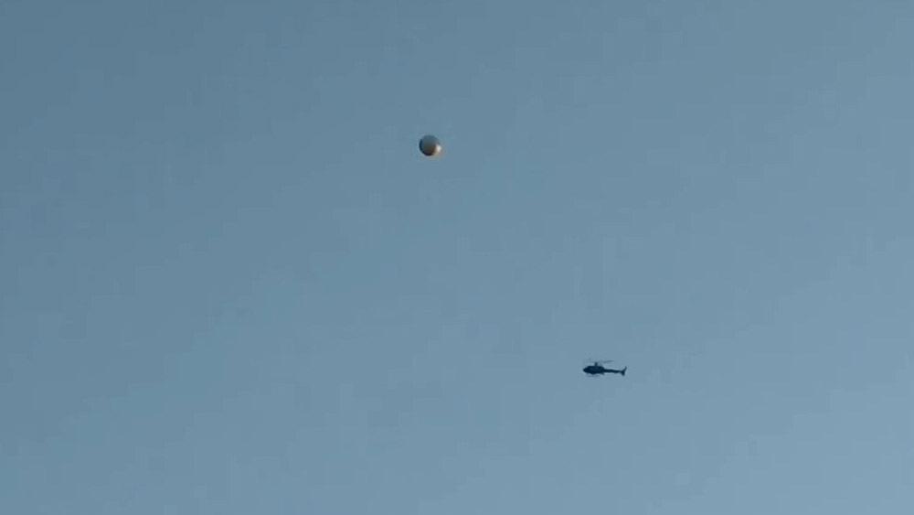 Над Лос-Анджелесом замечен сферический НЛО