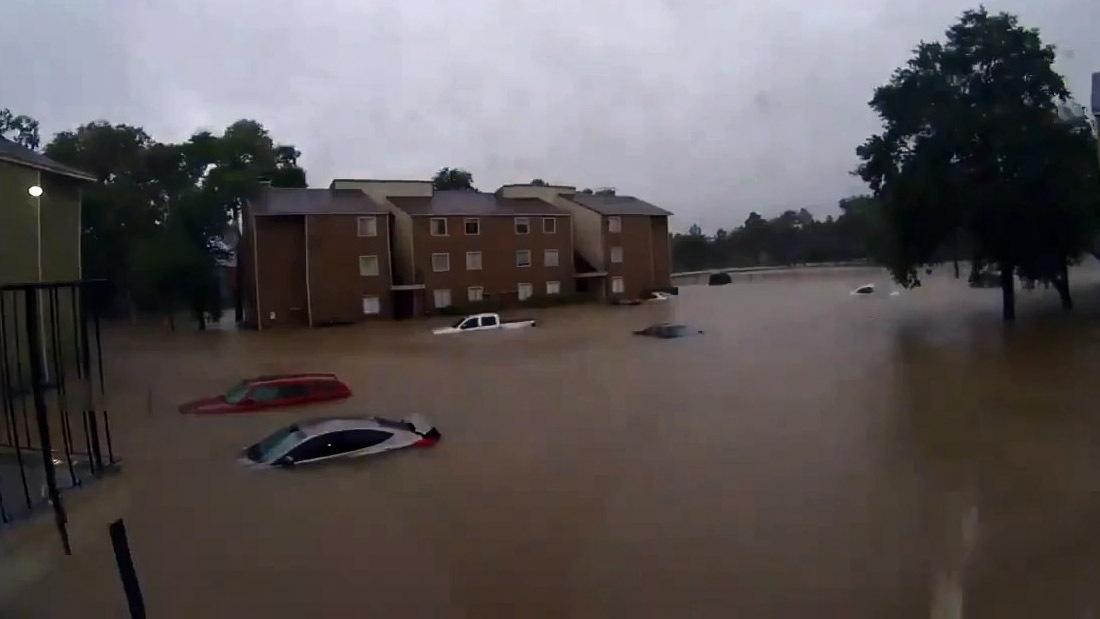 Таймлапс-видео затопления Хьюстона