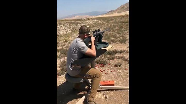 Охотничья винтовка взорвалась в руках стрелка