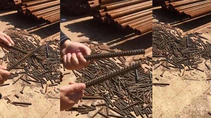 Хрупкая арматура на стройке