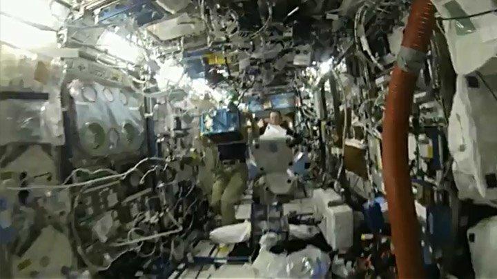 Экскурсия по международной космической станции