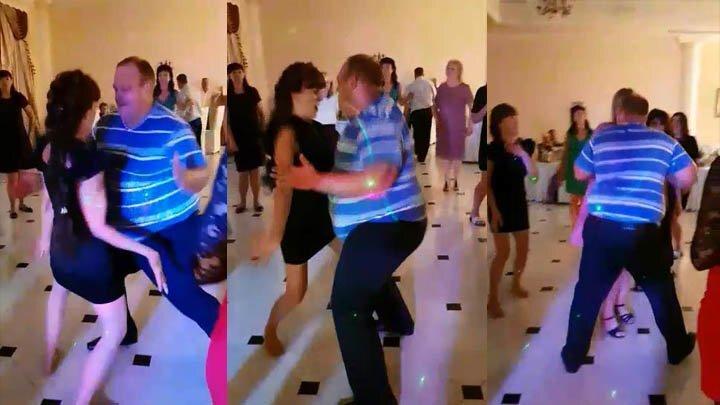 Ревнивая женщина не дала потанцевать своему мужчине