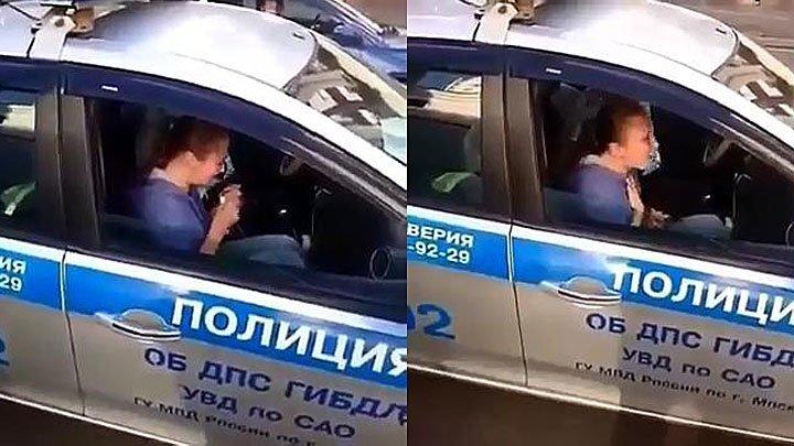 Девушка устроила истерику, узнав, что её машину эвакуировали
