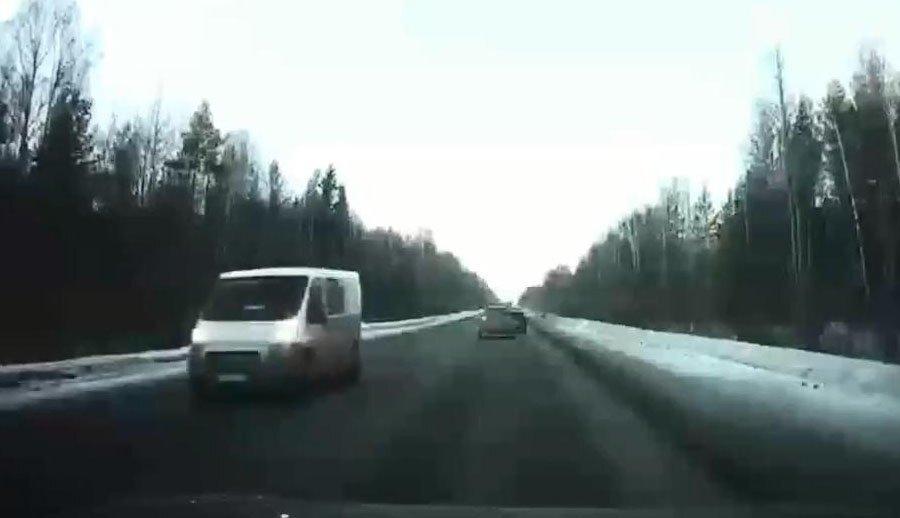 Авария дня. Массовое ДТП на Серовском тракте