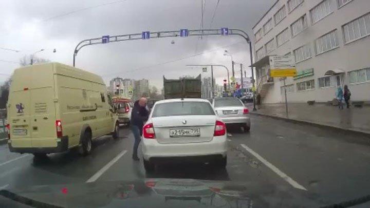 """Разборки студента на каршеринге и агрессора на Audi в """"Культурной столице"""""""