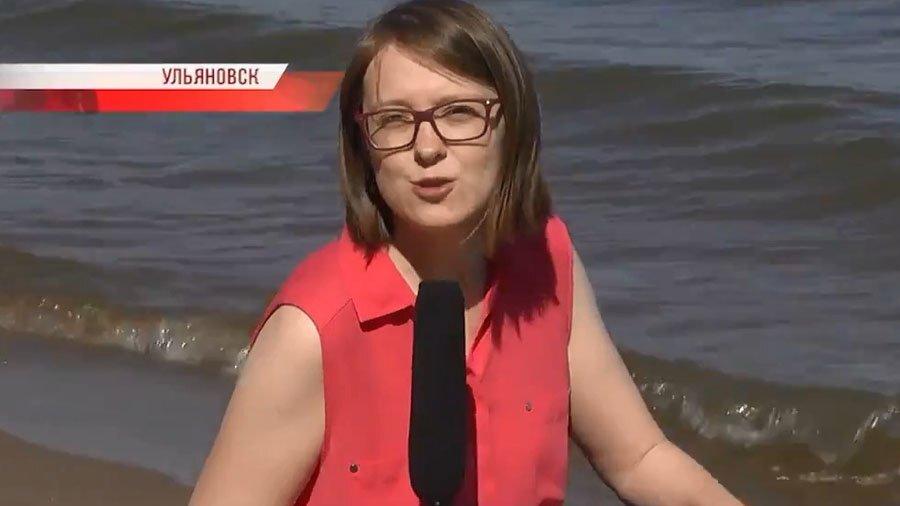 В Ульяновске журналистка попыталась взять интервью у мертвой рыбы