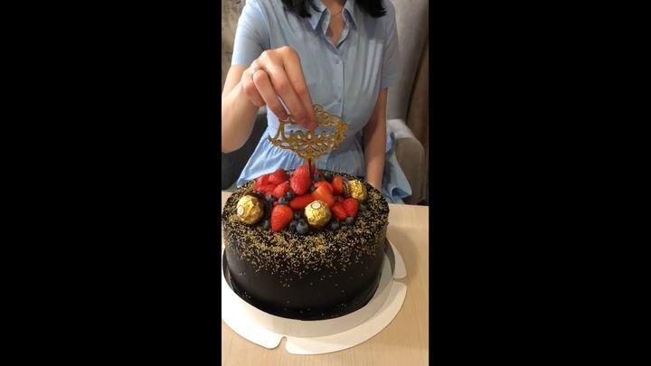 Оригинальный торт, который оценит любой именинник