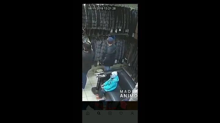 Дерзкая кража шубы в Ульяновске
