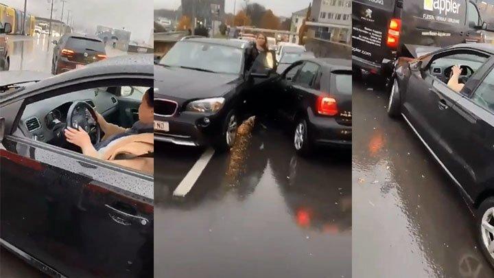 Пьяная автомобилистка из Австрии нарушила покой на дорогах города Линц