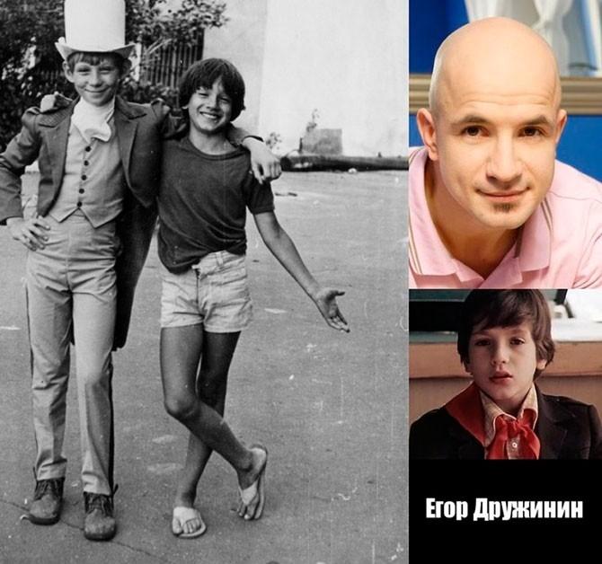 Как выглядят сейчас звезды советских детских и юношеских фильмов