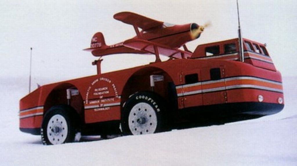 Антарктический вездеход Snow Cruiser
