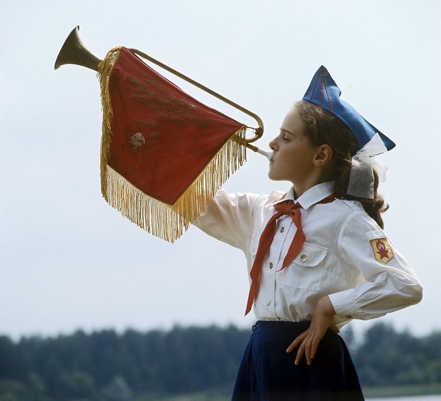 Фотографии советских пионеров