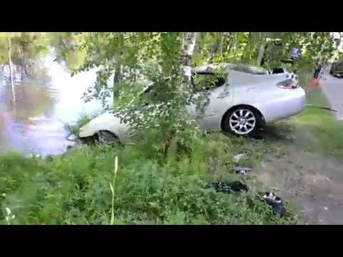 Как пацаны утопили машину