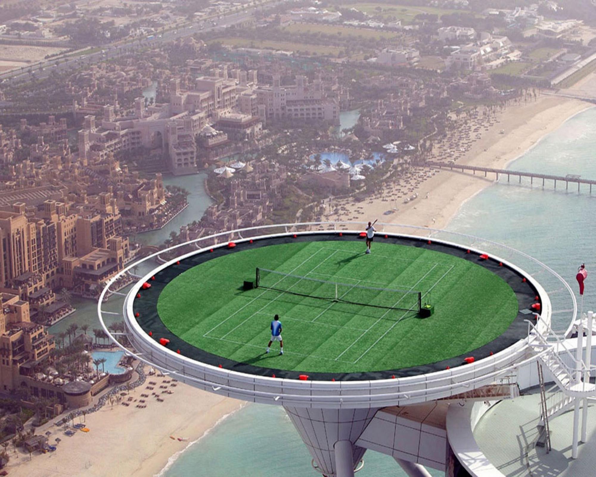 Самая красивая и необычная вертолетная площадка в мире