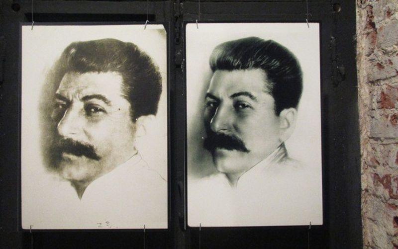 Как в сталинскую эпоху фотошопили фотографии