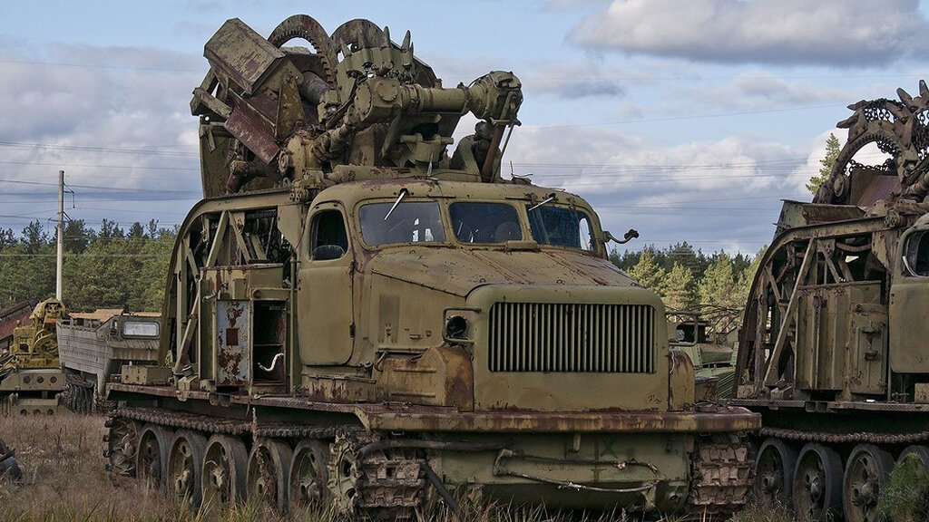 Списанная техника инженерных войск на Украине