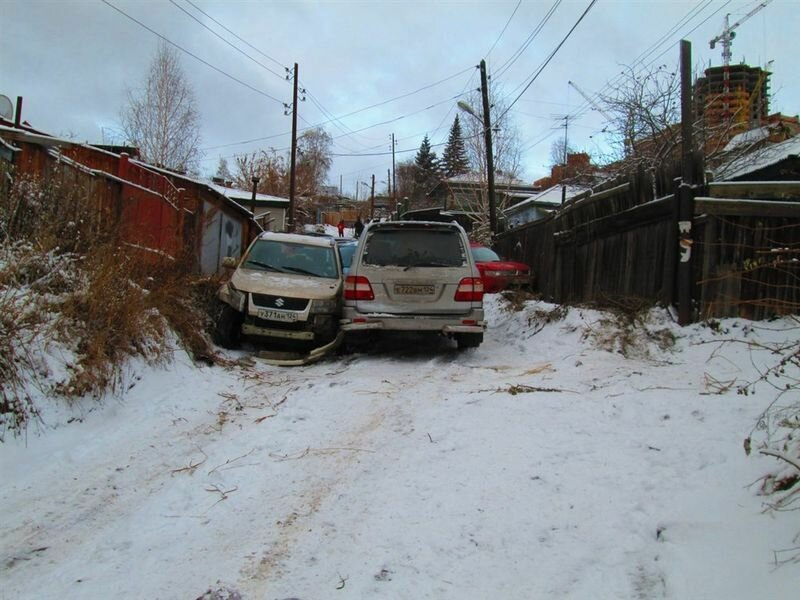 Массовое ДТП в Красноярске