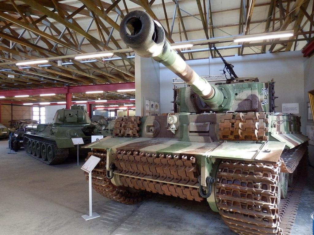 Немецкий танковый музей в Мунстере