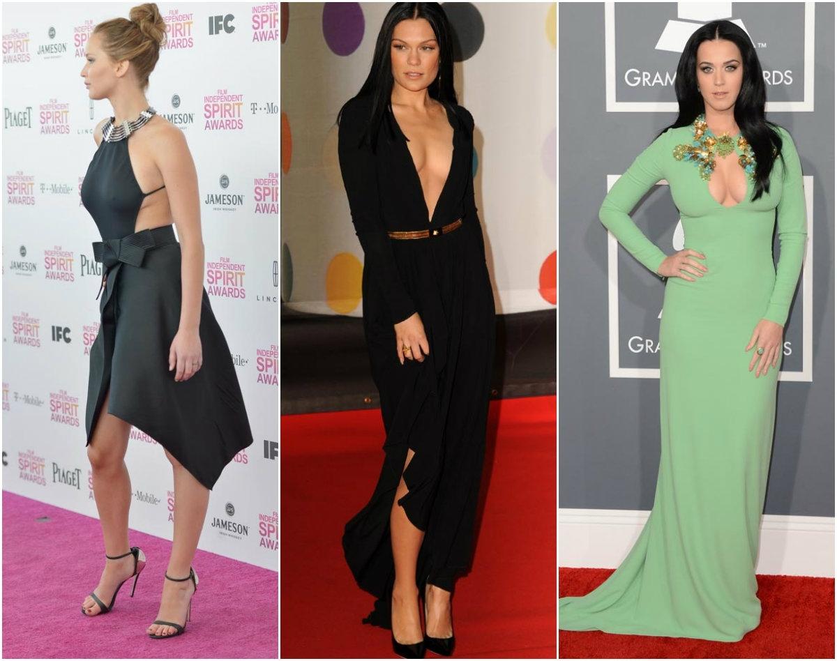Рейтинг самых скандальных звездных платьев  года