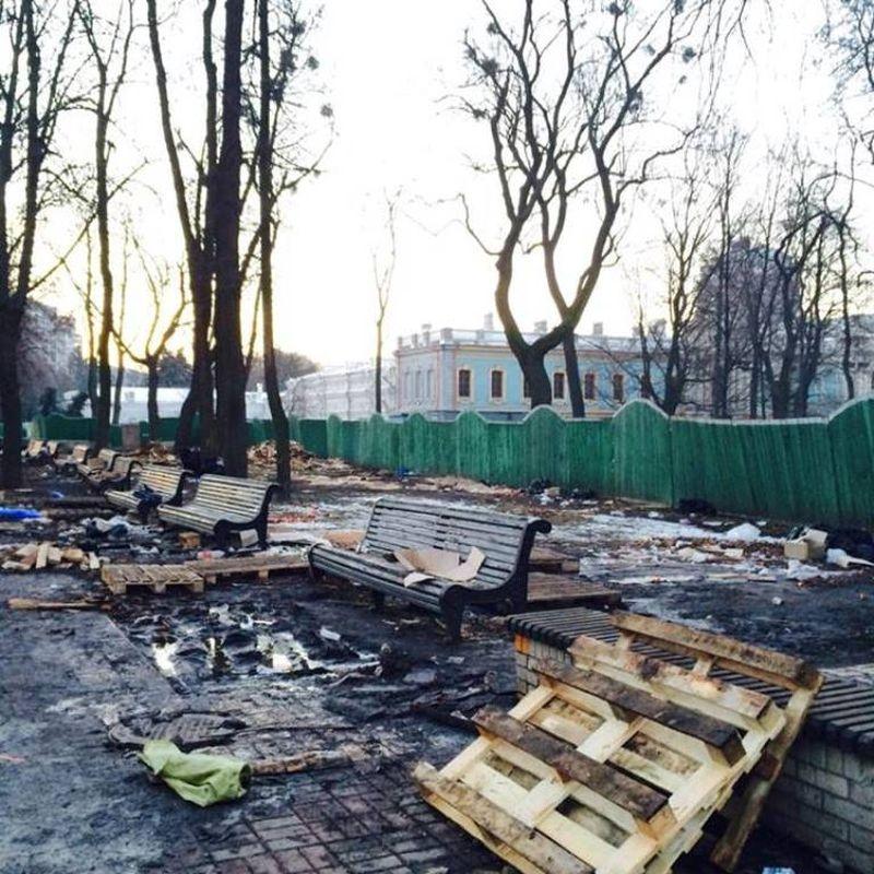 Последствия митинга в киевском парке