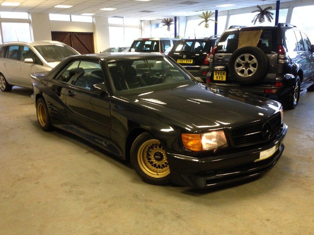 Найдено на eBay. Mercedes-Benz 560 SEC Koenig