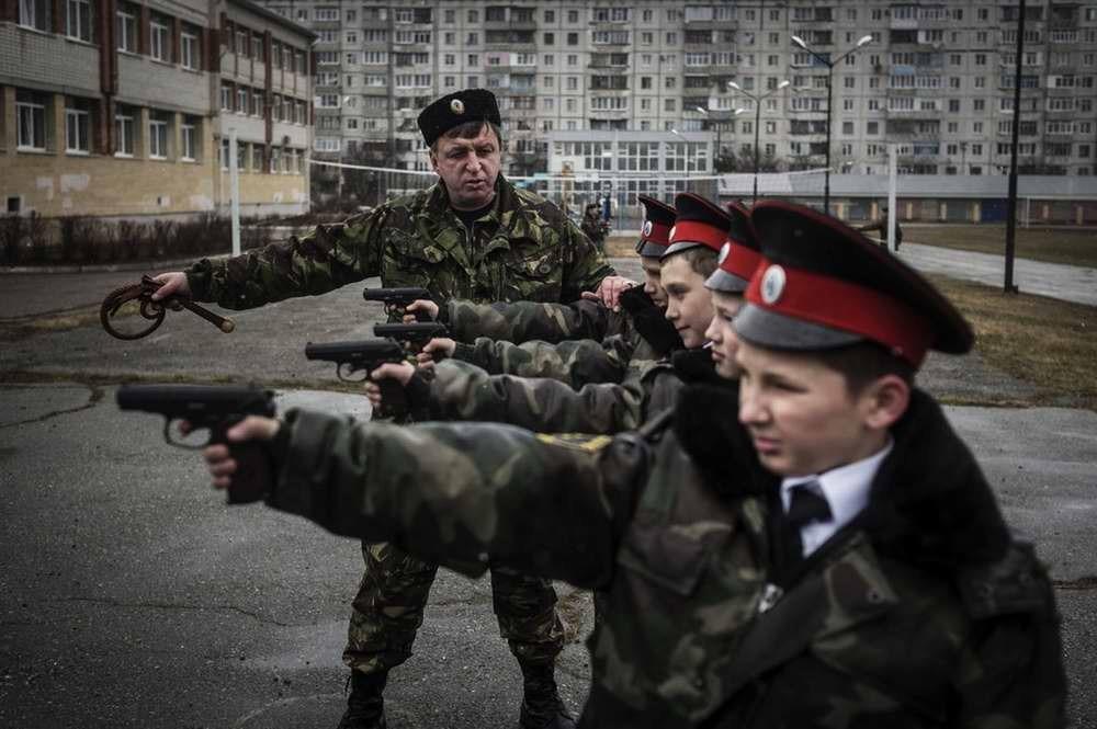Кадеты Ставропольской кадетской школы