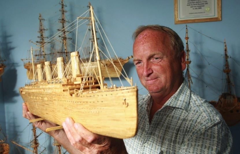 Удивительное хобби моряка в отставке