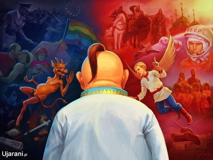 Карикатуры на тему политической ситуации на Украине