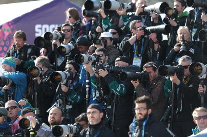 Как работали спортивные фотографы на Олимпиаде в Сочи