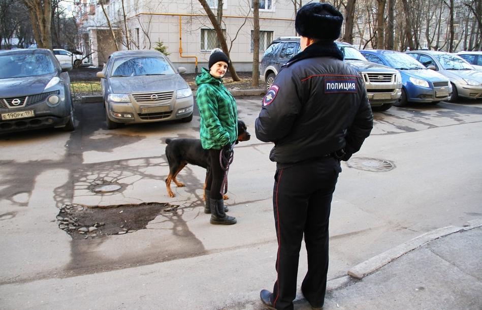 Один день из жизни московского участкового