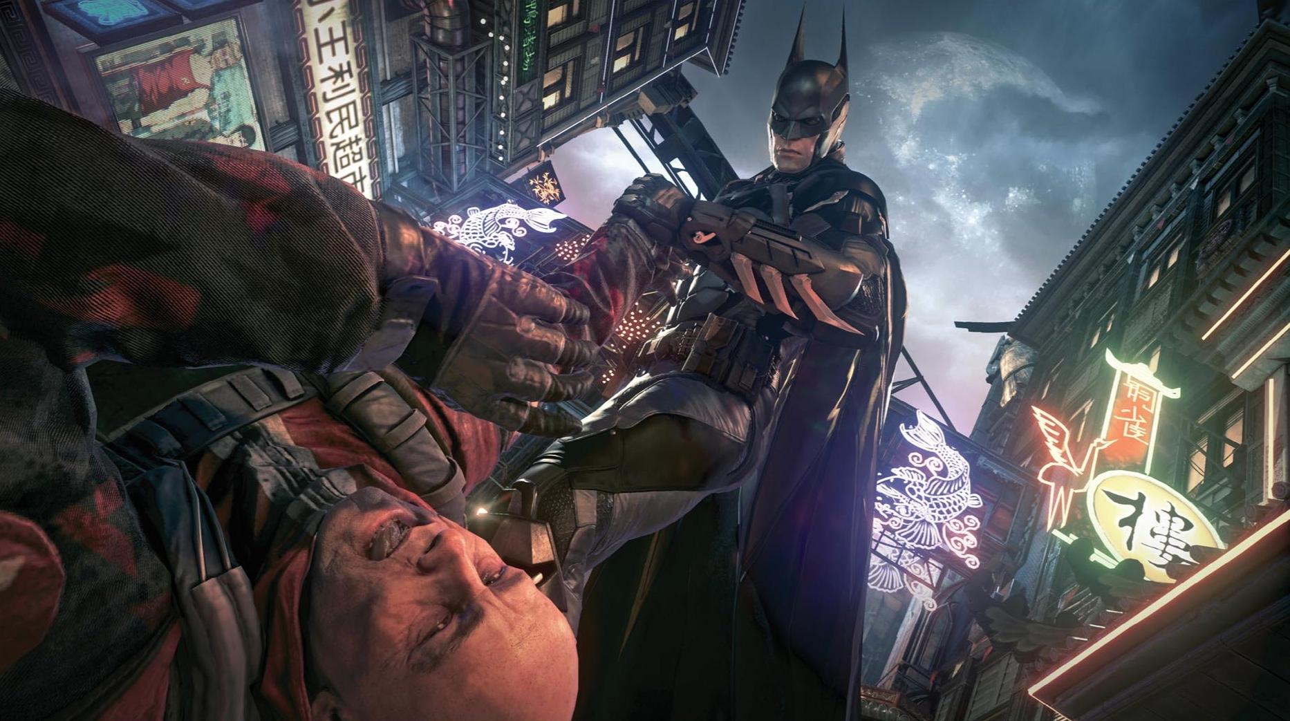 В сети появились первые скрины Batman arkham knight!