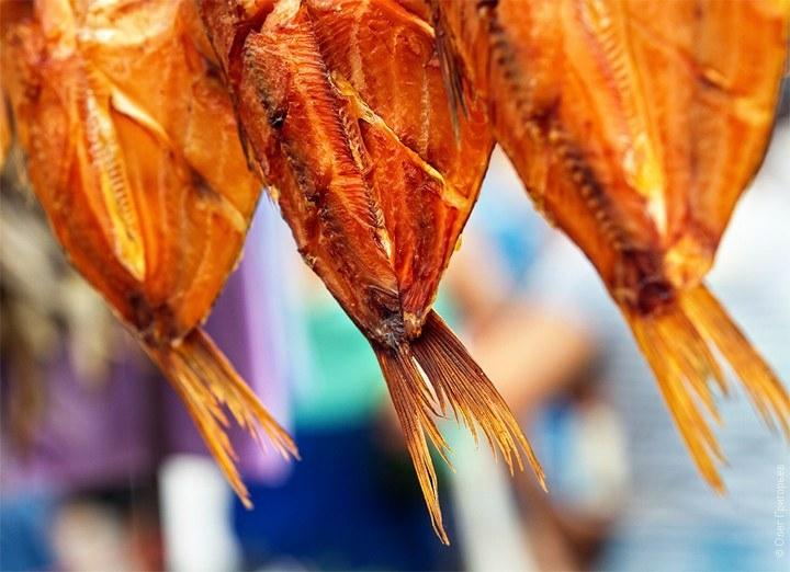 Пост под пиво или одесский рыбный рынок «Привоз»… (35 фото)