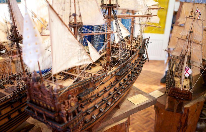 купить девушка модель кораблей ручной работы