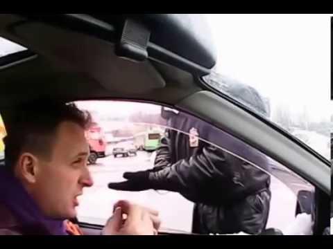 Разговор донецкого с киевским ГАИ