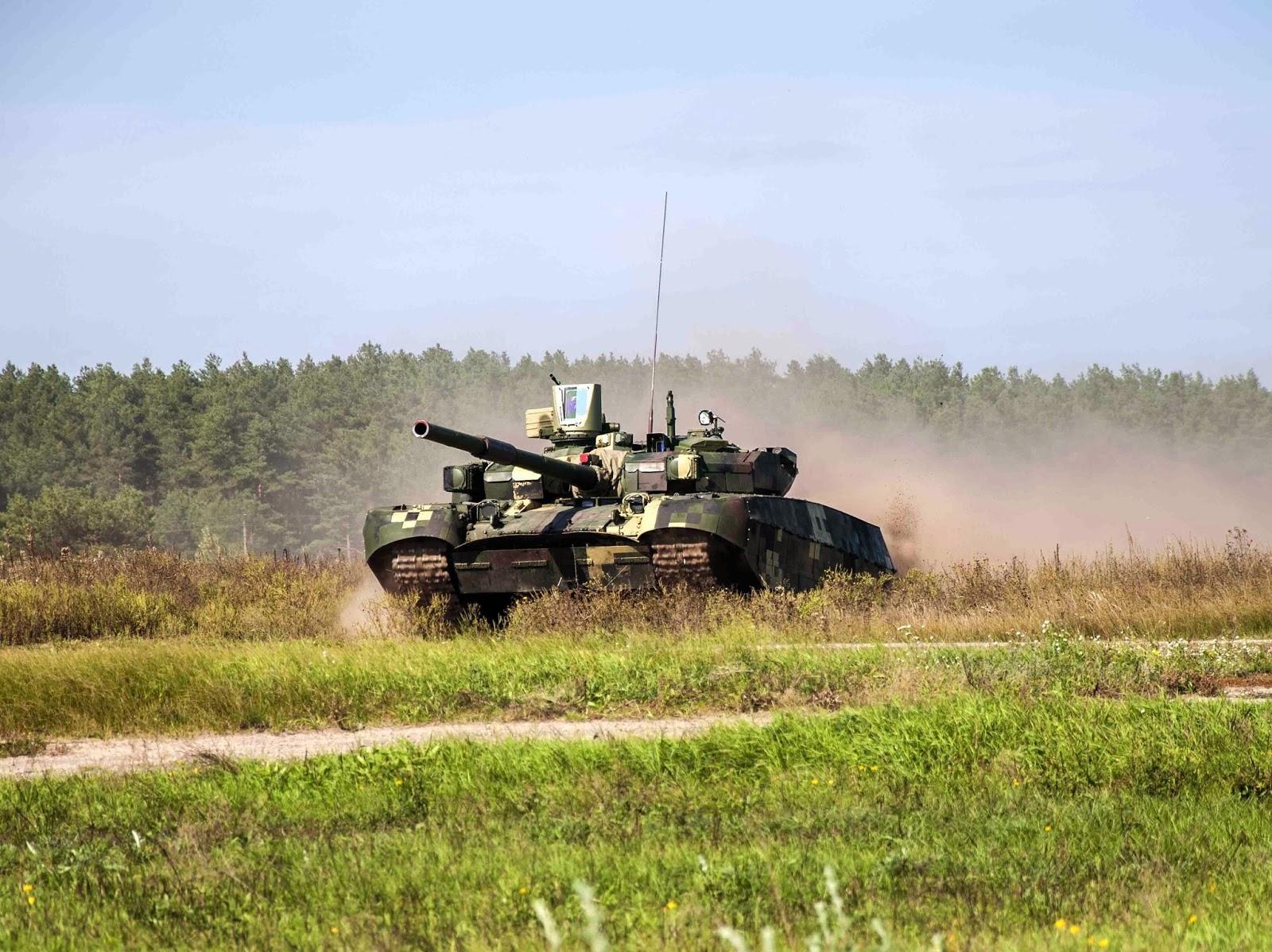 Т-84 БМ Оплот – танк, которому нету равных