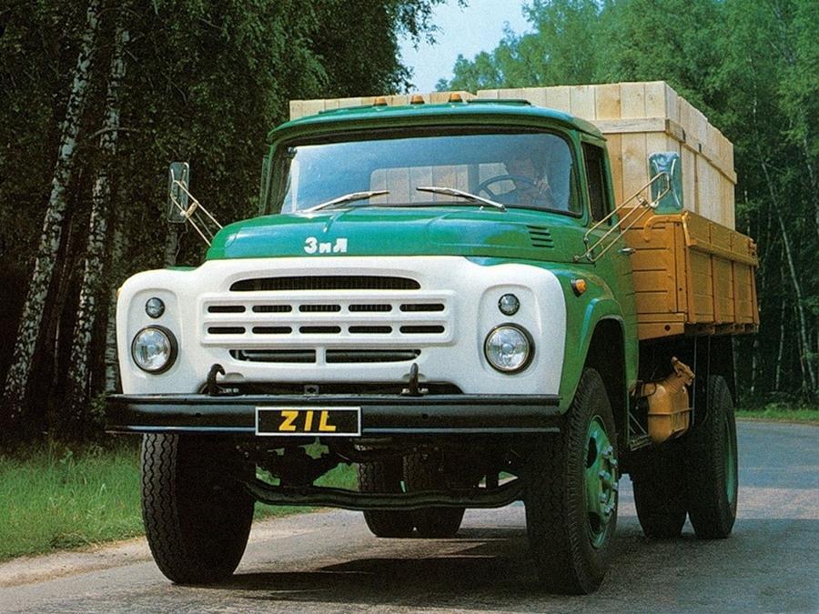 Автолегенды СССР. Грузовики. ЗиЛ-130