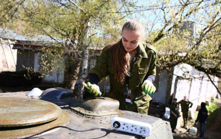 Геймеры помоют танки ко Дню Победы