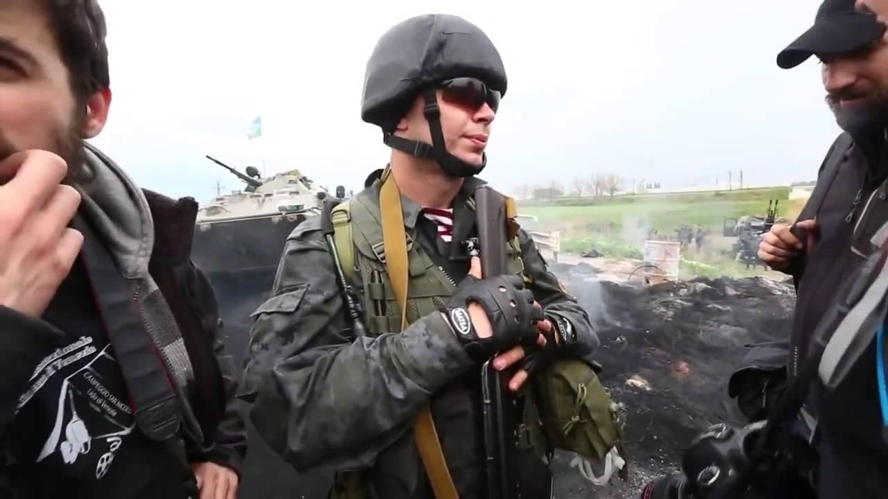 Украинские каратели свободно владеют итальянским.