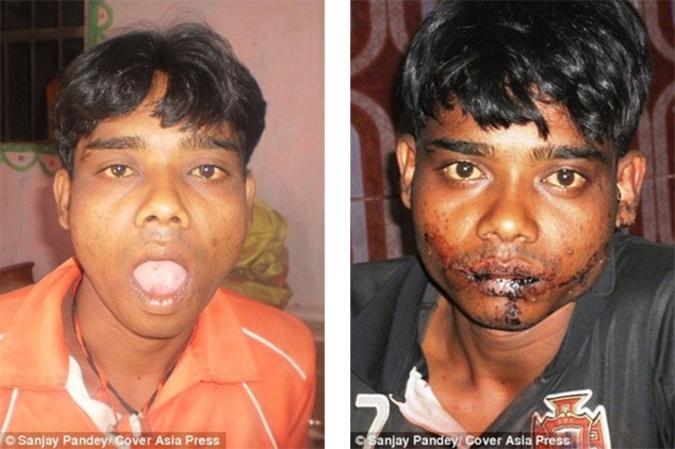 Индийский подросток отрезал себе язык во славу Шивы