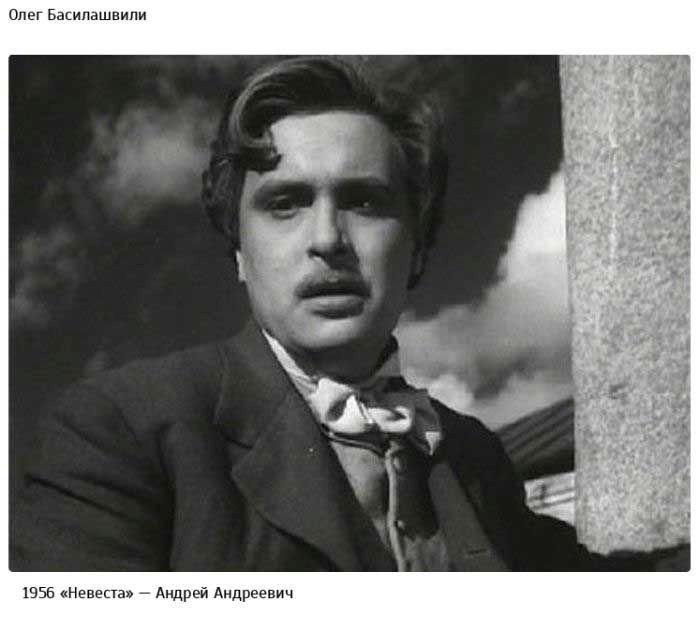 Первые роли в кино советских актёров.