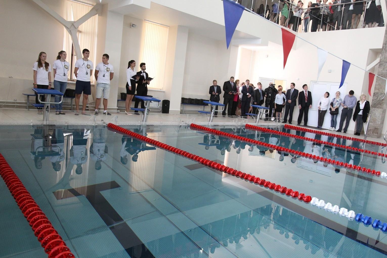 В РЭУ им. Плеханова открыли новый бассейн