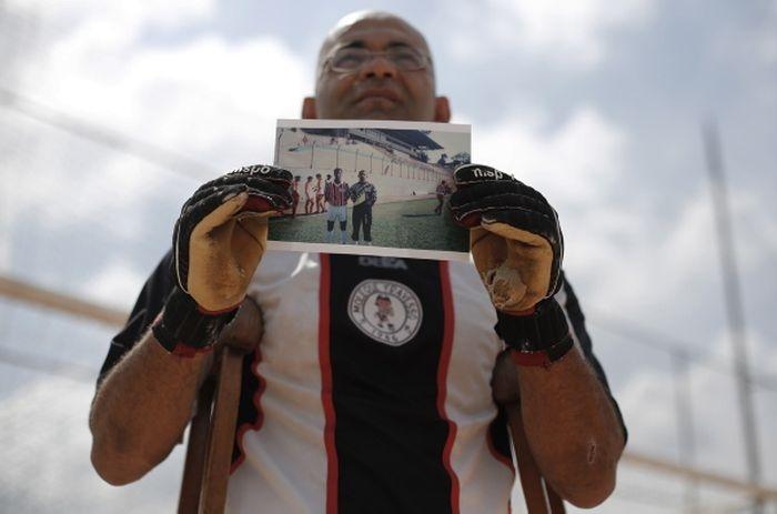 История мужественного одноногого вратаря из Сан-Паулу
