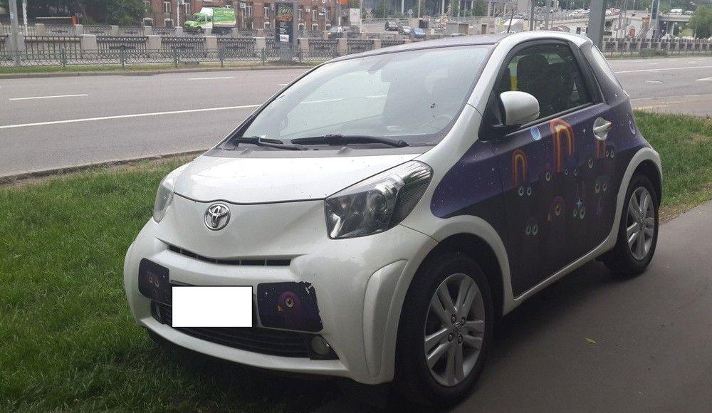 Борьба с парковкой на газоне