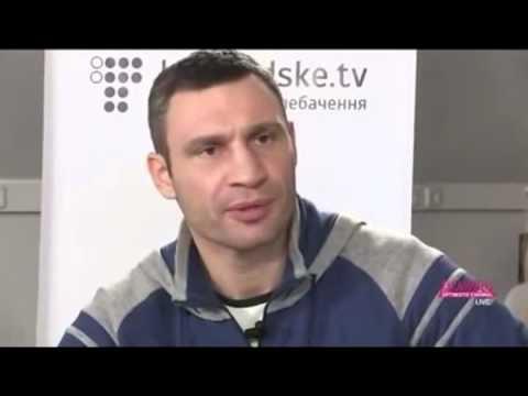 Эпичные ляпы Кличко :)