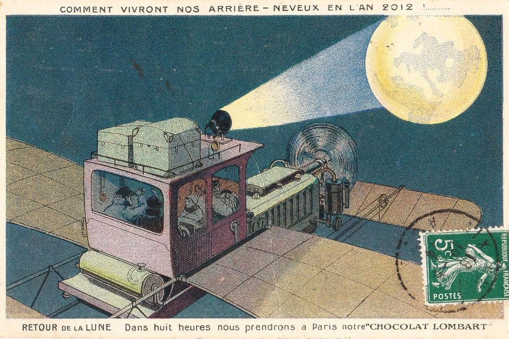 Как люди представляли себе будущее 100 лет назад