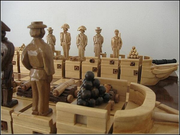 Шах и мат! Топ 10 самых необычных шахмат
