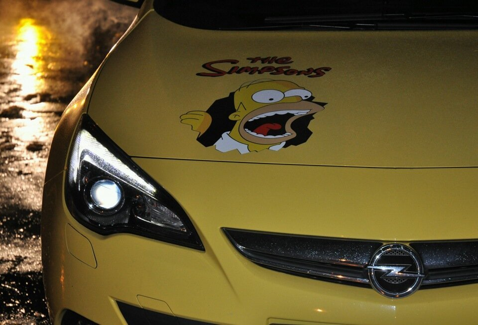 Opel Astra -The Simpsons