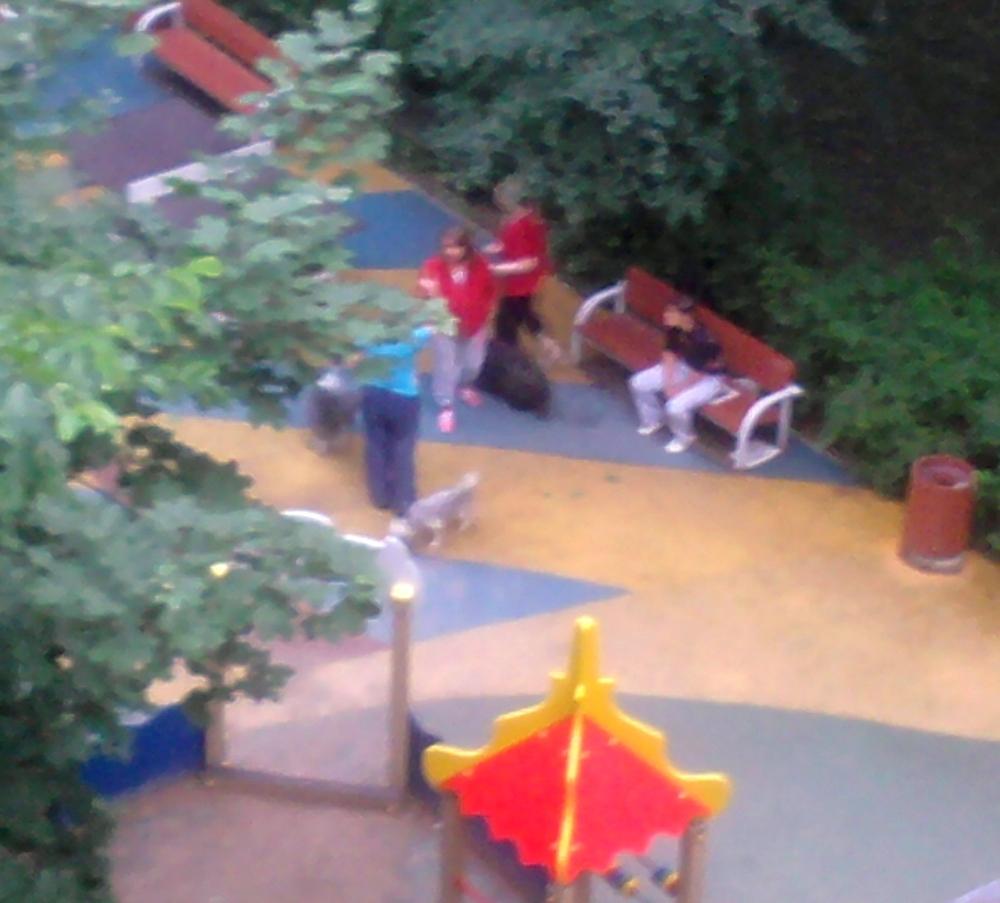Детская площадка и как на ней гулять:(