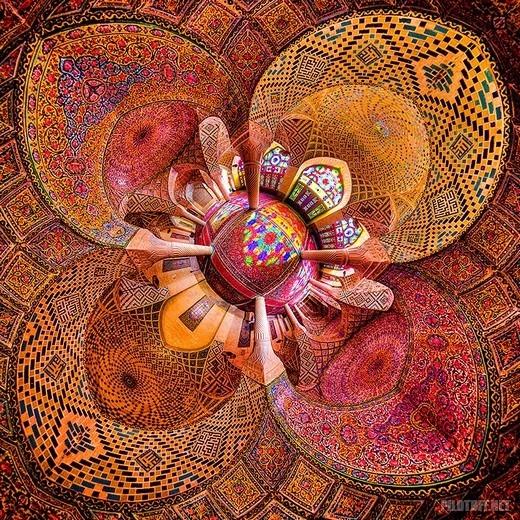 Мечети Ирана изнутри